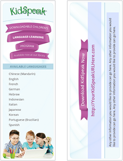 KidSpeak for Libraries bookmarks - editable text.png