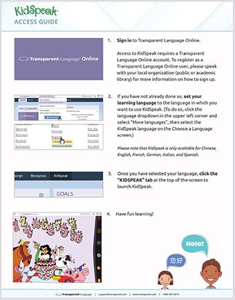 kidspeak-access-guide
