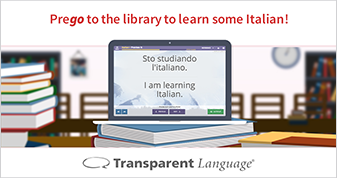 Learn Italian at Your Library Photo