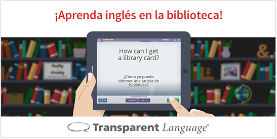 Learn English in the Library Twitter Photo